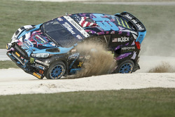 Ken Block, Hoonigan Racing Division Ford starts to crash