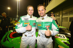 Winners Laurens Marco Seefried, Norbert Siedler, Rinaldi Racing