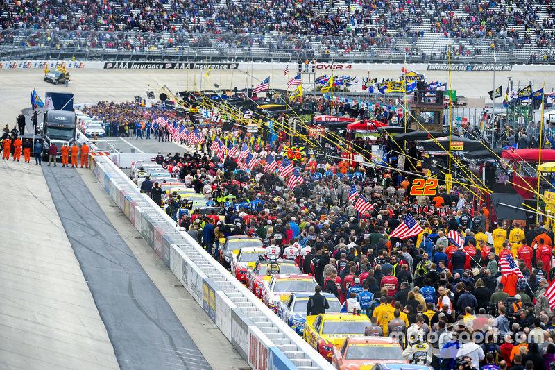 Pre-race festivities
