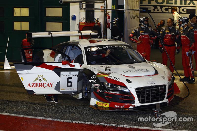 #6 Phoenix Racing Audi R8 LMS ultra: Нікі Mayr-Мельнхоф, Маркус Вінкелхок