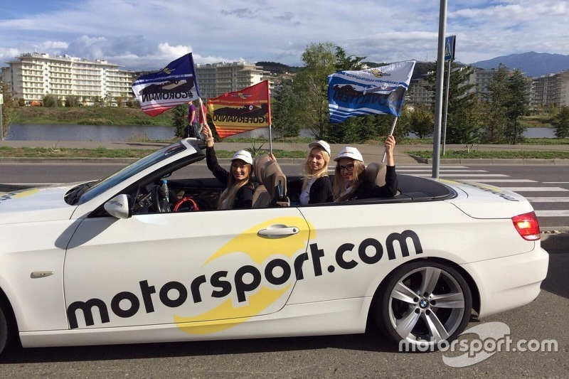 Кабриолет BMW Motorsport.com Россия