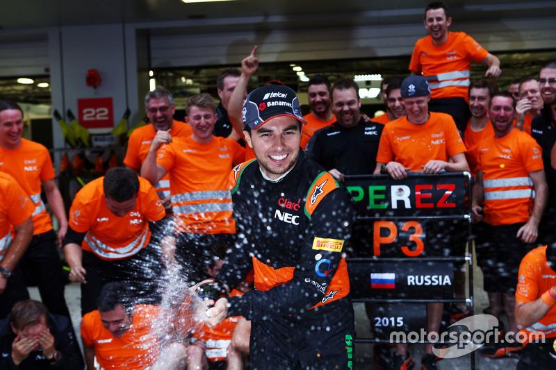 Best verbeterde coureur van het jaar: Sergio Pérez