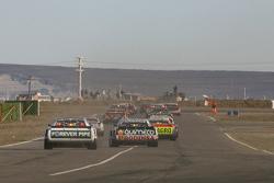 Emiliano Spataro, UR Racing Dodge, Juan Marcos Angelini, UR Racing Dodge, Jonatan Castellano, Castel