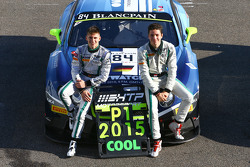 2015 champions #84 Bentley Team HTP Bentley Continental GT3: Maximilian Buhk, Vincent Abril