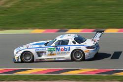#21 Team Zakspeed, Mercedes SLS AMG GT3: Sebastian Asch, Luca Ludwig