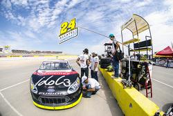 Pit y auto de Rodrigo Peralta, Tame Racing