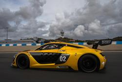 Renault Sport R.S. 01, il test sul circuito di Jerez