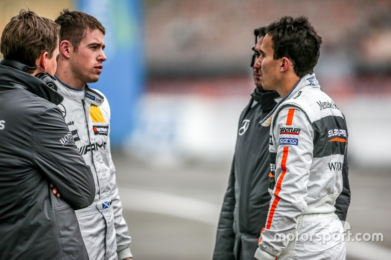 Paul di Resta, HWA AG Mercedes-AMG C63 DTM and Robert Wickens, HWA AG Mercedes-AMG C63 DTM