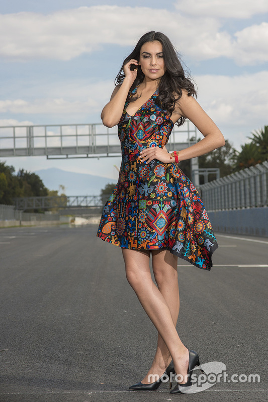 mexican gp grid girl at mexican gp grid girls