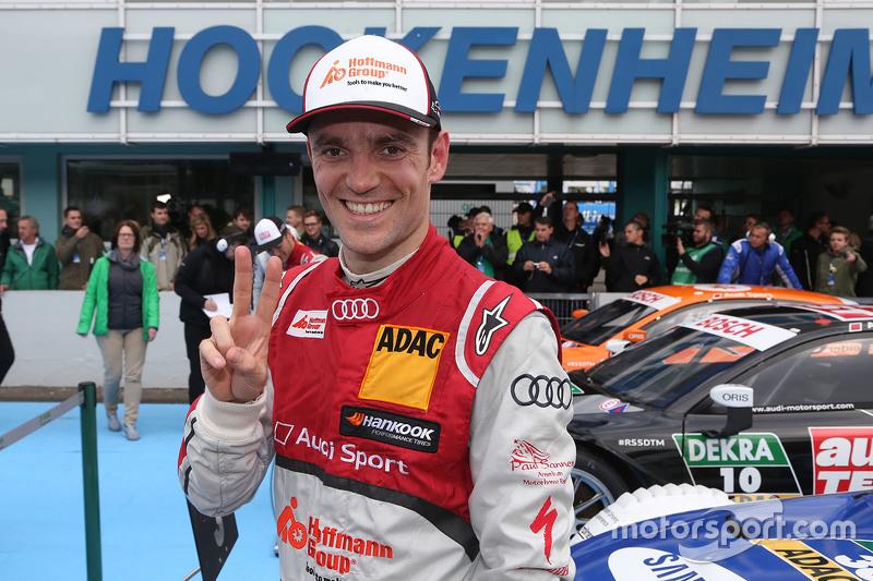 Second place Jamie Green, Audi Sport Team Rosberg Audi RS 5 DTM