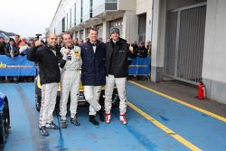 Ganadores #2 Black Falcon Mercedes-Benz SLS AMG GT3: Hubert Haupt, Yelmer Buurman, Adam Christodoulou, Manuel Metzger