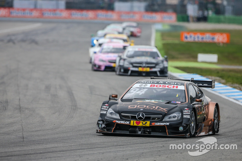 Pascal Wehrlein , HWA AG Mercedes-AMG C63 DTM