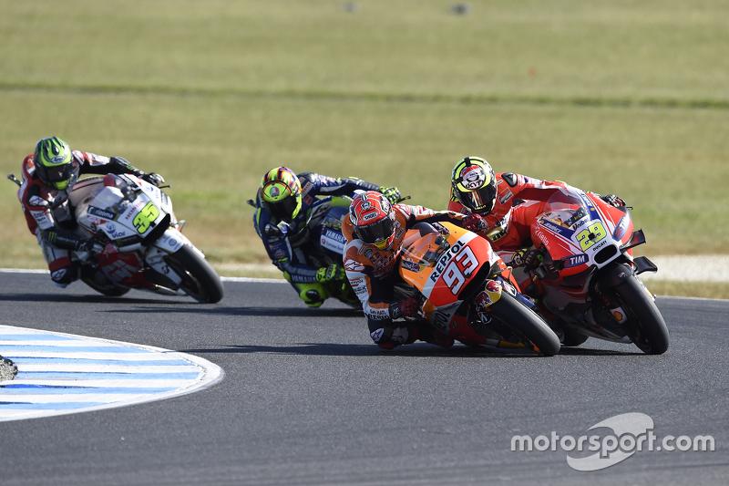 Марк Маркес, Repsol Honda Team випереджає Андреа Янноне, Ducati Team