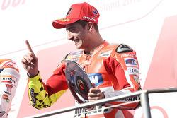 Подиум: третье место - Андреа Янноне, Ducati Team