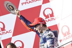 Podium : le deuxième, Jorge Lorenzo, Yamaha Factory Racing