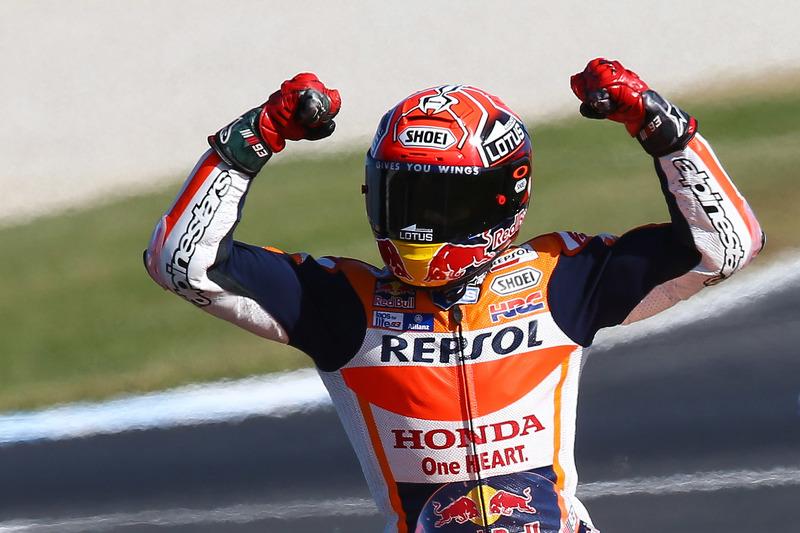 Rennsieger Marc Marquez, Repsol Honda Team