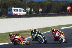 Марк Маркес, Repsol Honda Team, Валентино Росси, Yamaha Factory Racing, Андреа Янноне, Ducati Team