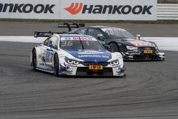 Maxime Martin, BMW Team RMG, BMW M4 DTM; Timo Scheider, Audi Sport Team Phoenix, Audi RS 5 DTM