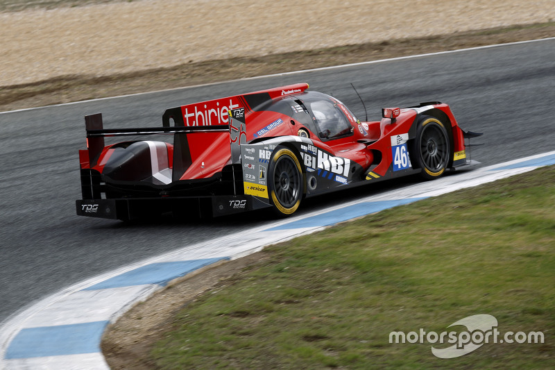 #46 Thiriet by TDS Racing Oreca 05 - Nissan: Pierre Thiriet, Ludovic Badey, Ніколя Лапьер