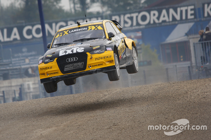 Robin Larsson, Larsson Jernberg Racing Team Audi A2