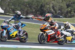 Alex Marquez, EG 0,0 Marc VDS e Lorenzo Baldassarri, Forward Racing