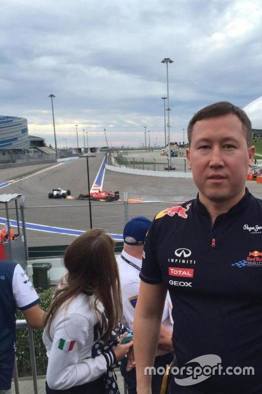 Selfie GP da Rússia