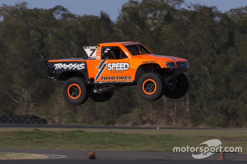 Robby Gordon in seinem Super-Truck