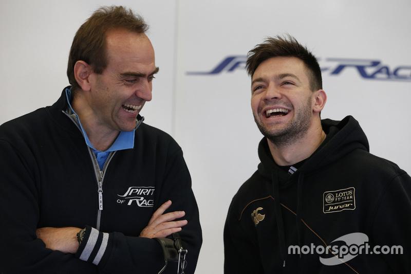 Matthieu Vaxivière, Spirit of Race ve Amato Ferrari