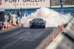 Андрей Муленко, Chevrolet Corvette прогревает резину