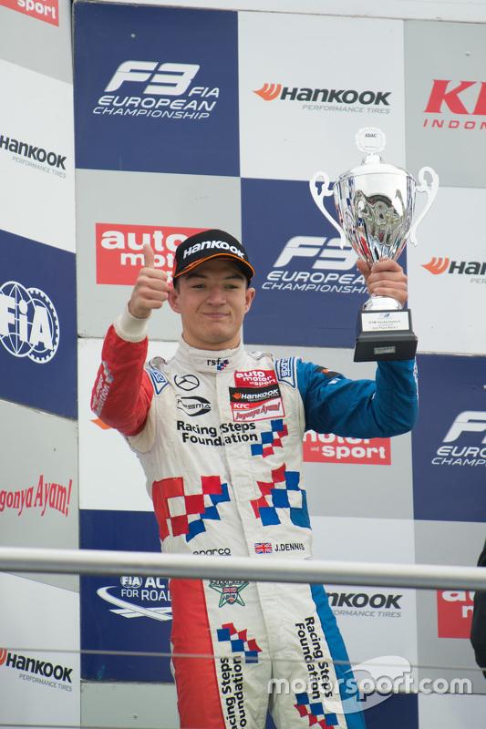 2. im 1. Rennen: Jake Dennis, Prema Powerteam, Dallara Mercedes-Benz