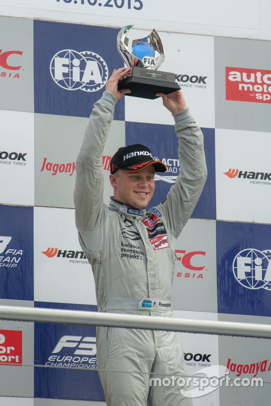 Le Champion 2015 Felix Rosenqvist, Prema Powerteam Dallara Mercedes-Benz