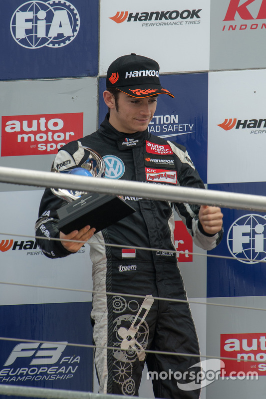 Le Champion des rookies 2015 Charles Leclerc, Van Amersfoort Racing Dallara Volkswagen