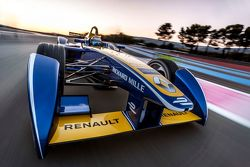 La Renault Z.E 15 in pista