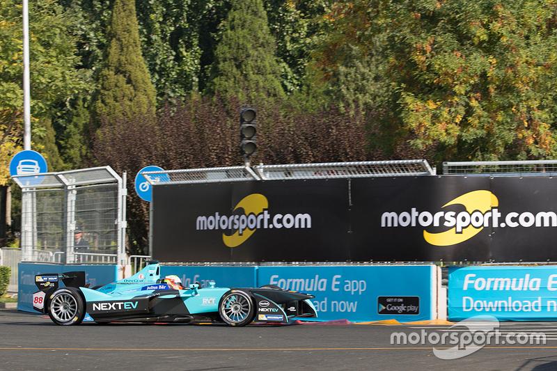 Оливер Тёрви, NEXTEV TCR Formula E Team с логотипом Motorsport.com