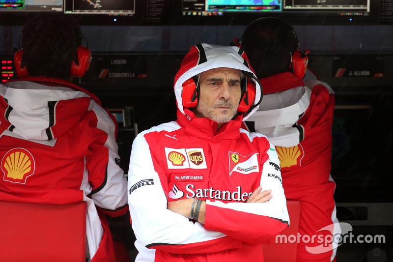 Maurizio Arrivabene, Scuderia Ferrari, team principal