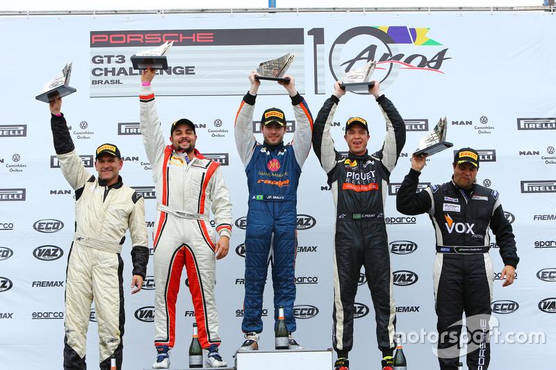JP Mauro celebra vitória e título da Challenge