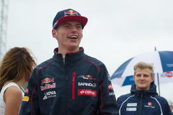 Max Verstappen, Scuderia Toro Rosso, bei der Fahrerparade