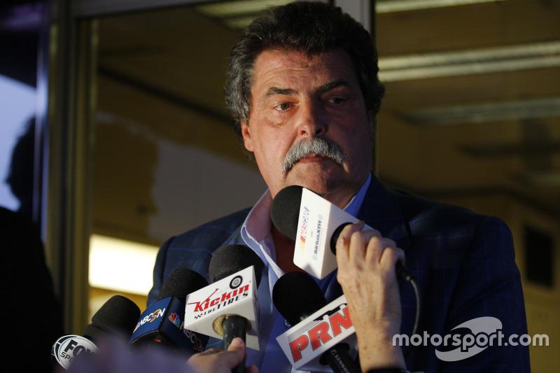 NASCAR Vice-Chairman Mike Helton