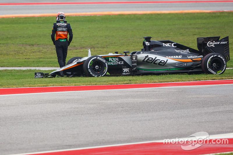 Ніко Хюлкенберг, Sahara Force India F1 VJM08 зійшов в гонці