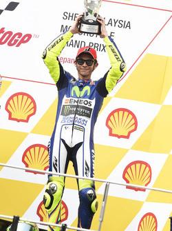 Подиум: третье место Valentino Rossi, Yamaha Factory Racing