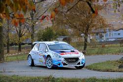 Craig Breen e Scott Martin, Peugeot 208 T16, Peugeot Rally Academy