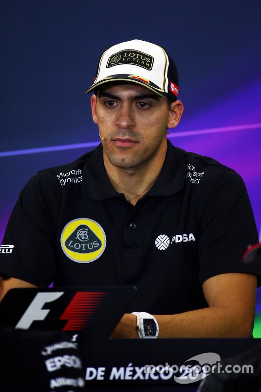Пастор Мальдонадо, Lotus F1 Team на пресс-конференції FIA