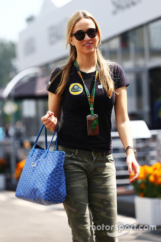 Carmen Jorda, Pilota collaudatrice del Team Lotus F1