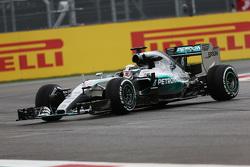 Разворот Льюиса Хэмилтона, Mercedes AMG F1 W06