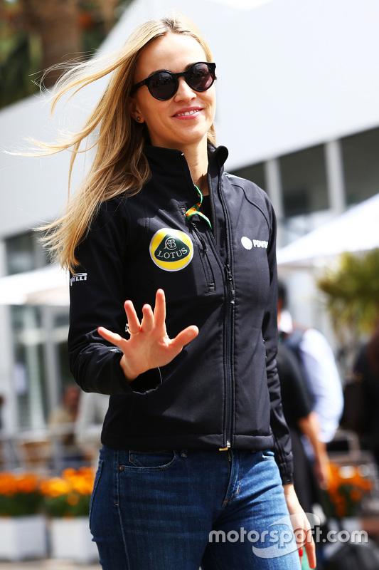 Carmen Jordá, Lotus F1 Team