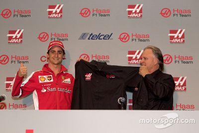 Esteban Gutiérrez'in Haas F1 Takım ile tanıtımı