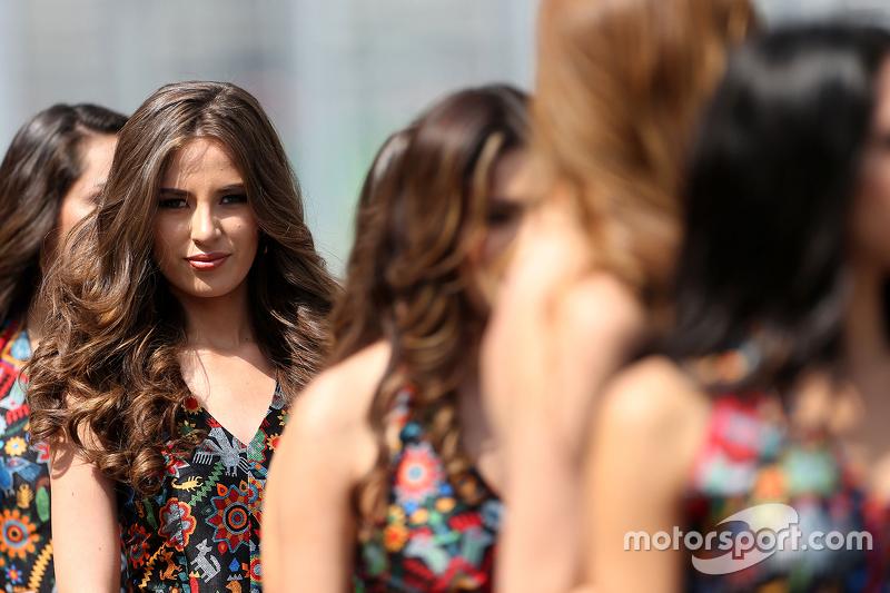 Chicas de la parrilla GP de México