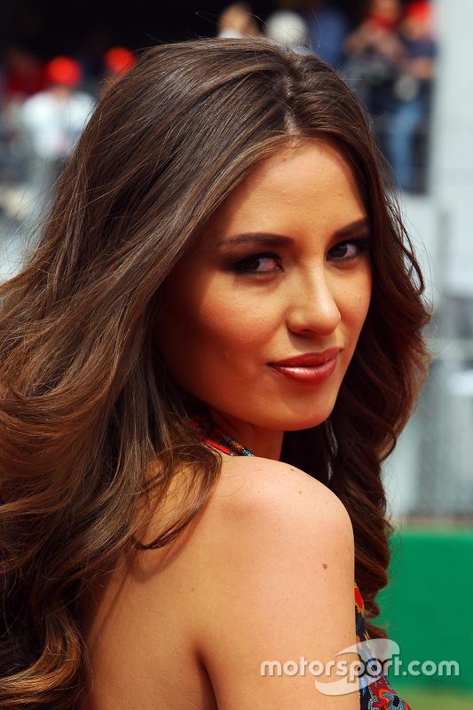 Chica de la parrilla GP de México