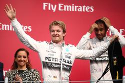 Подиум: победитель гонки - Нико Росберг, Mercedes AMG F1 W06