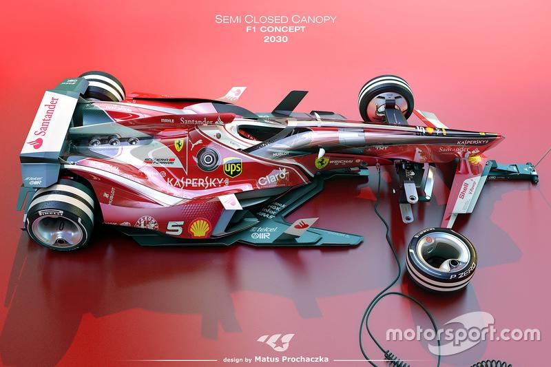 Das Formel 1 Auto Der Zukunft Fotos Formel 1 Rennveranstaltungen